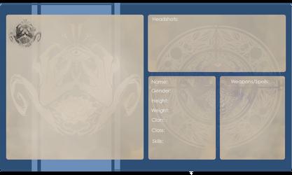 Ashinik Clan Profile Sheet by Yuroboros