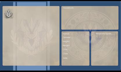 Valheia Profile Sheet by Yuroboros
