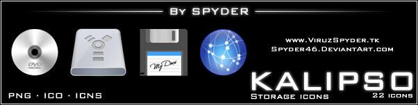 KALIPSO Storage Icons by Spyder46
