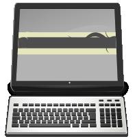 Computer icon m-p by Mandarancio