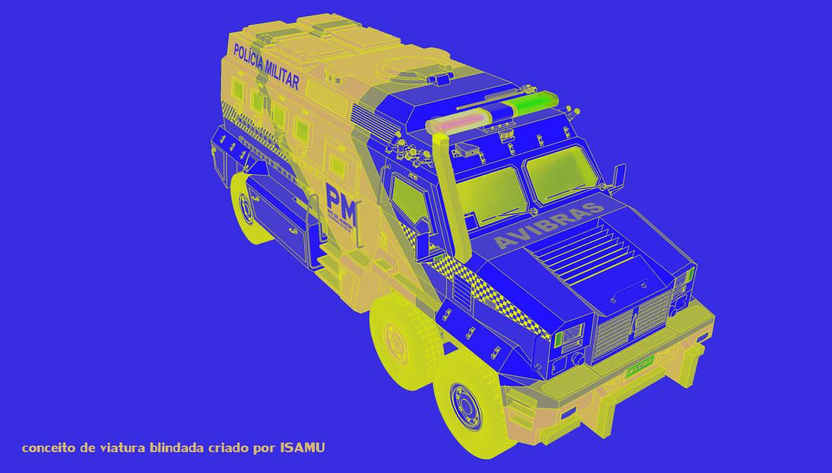 AVIBRAS-blindado Marreta 6x6 by desenvolvedor-Isamu