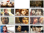 Les Mis stamps: Students of the l'ABC