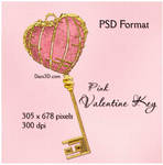 Pink Valentine Key