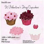 St. Valentine's Day Cupcakes