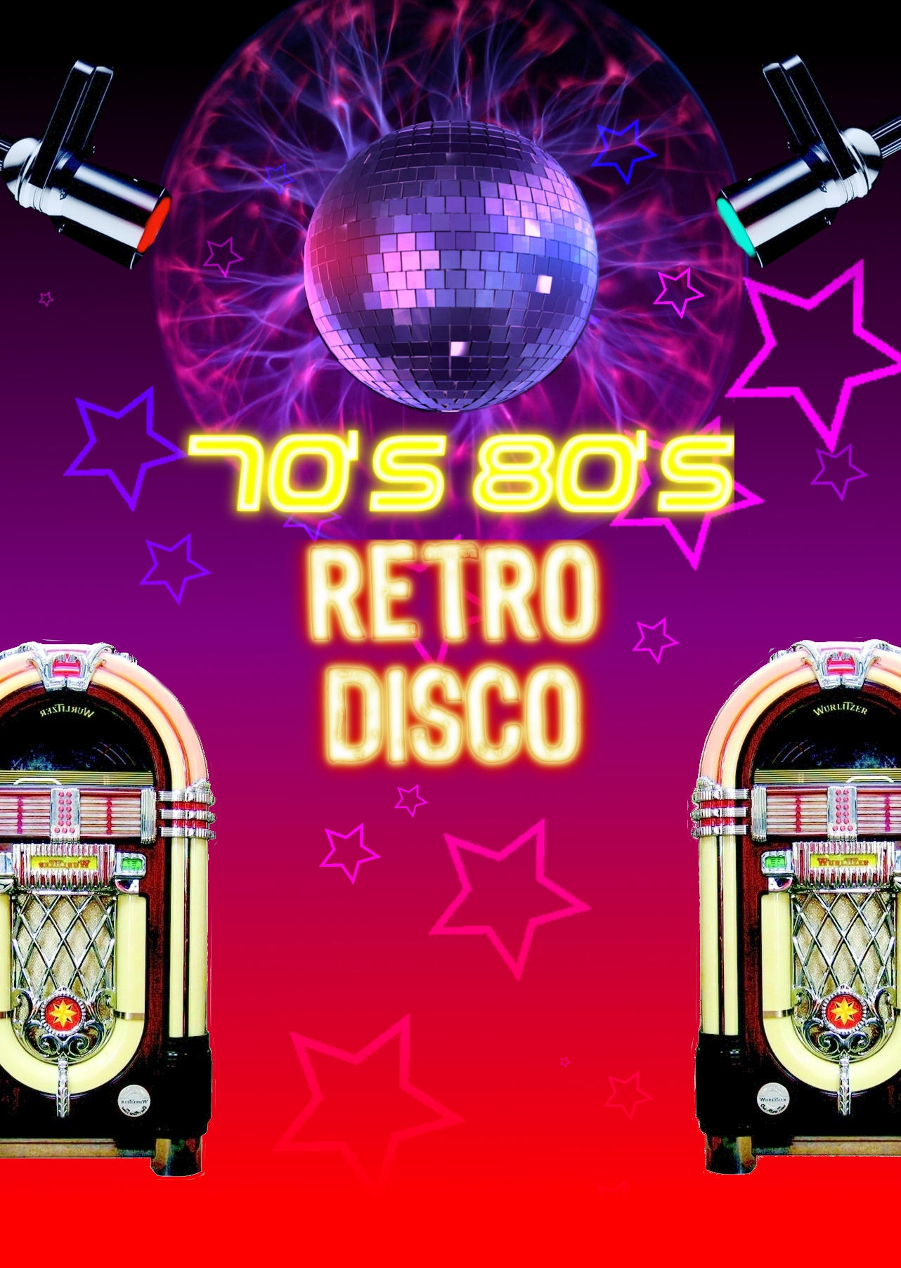 70s 80s Retro Disco By Damid