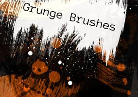 Grunge Brushes 1 by Black-B-o-x