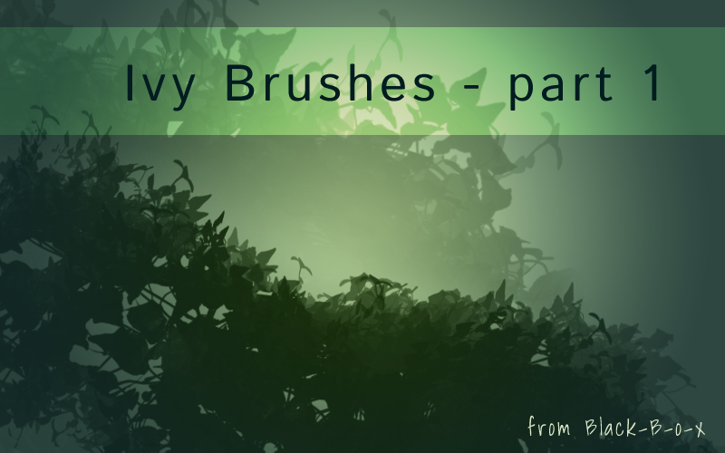Ivy brushes part1 from black-B-o-x by Black-B-o-x