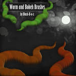 Worm and Bokeh Brushes
