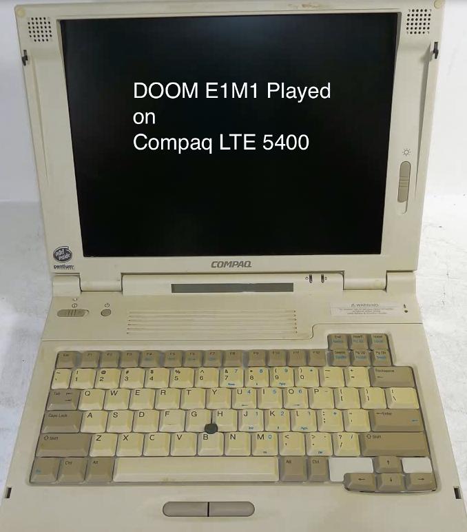 Compaq LTE Doom E1M1 theme (Music) by MacThePlaneh on DeviantArt