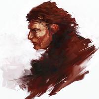 Quick skecth - character design: Tough dude