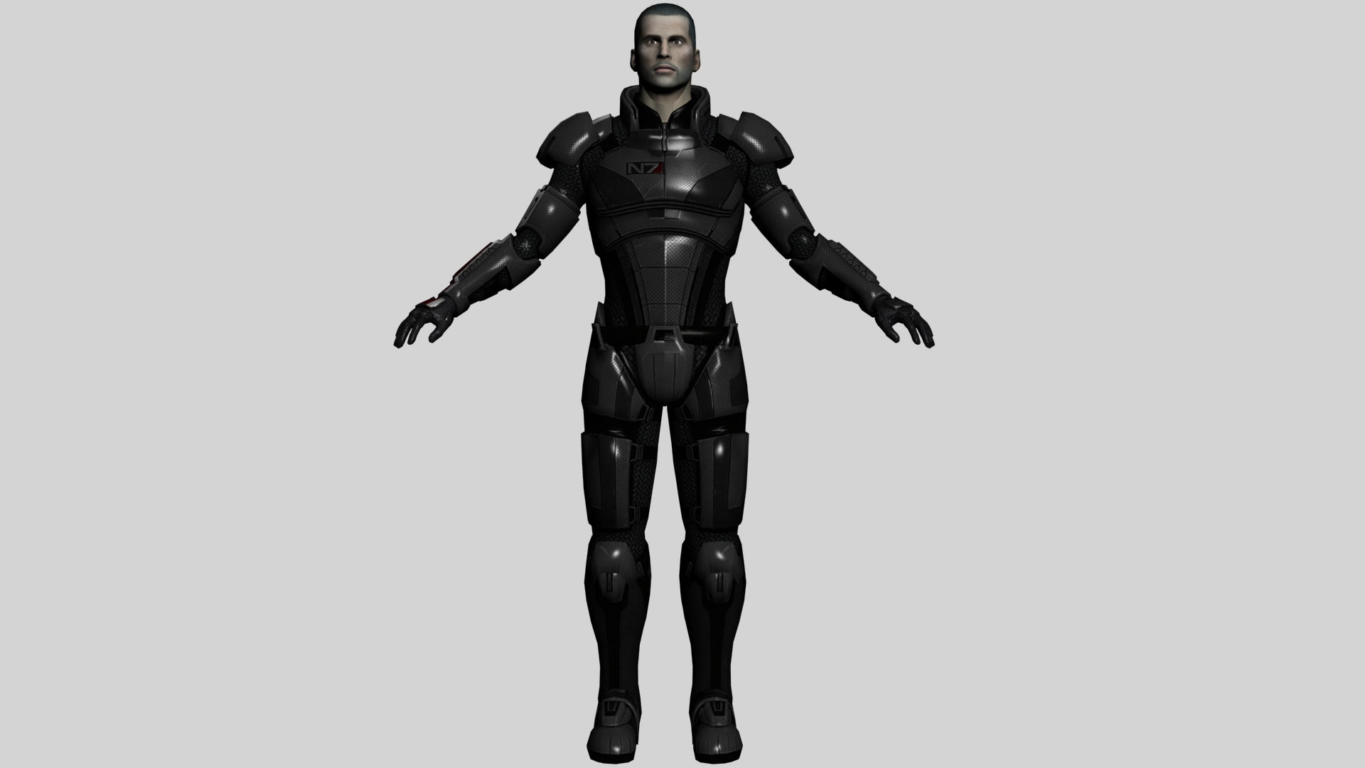 Male Shepard Armor Reference by ImperatorAlicia