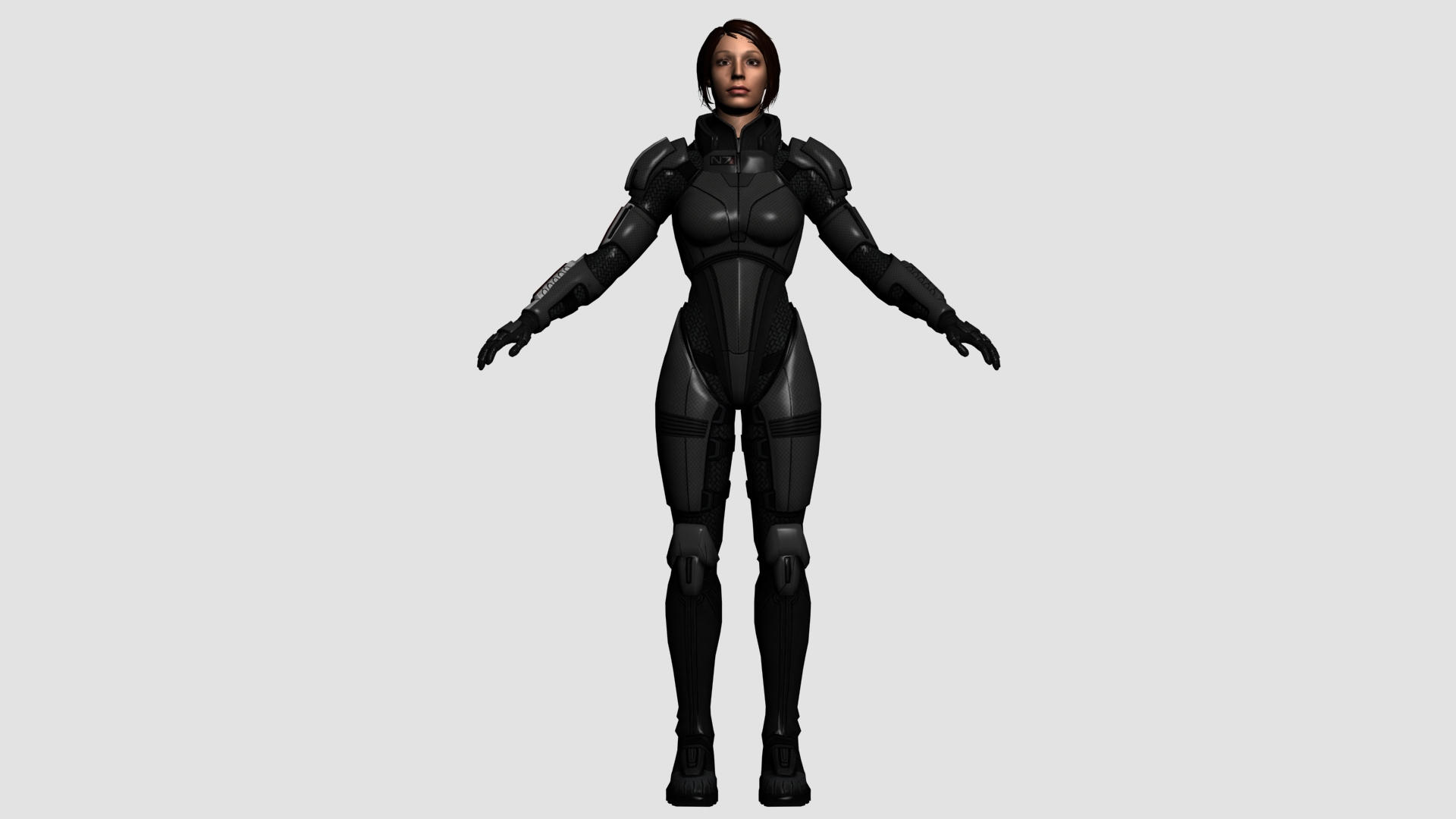 Female Shepard Armor Reference by ImperatorAlicia