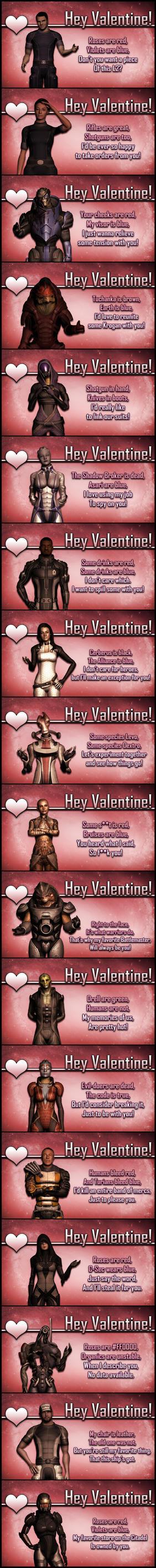 Hey Valentine by ImperatorAlicia