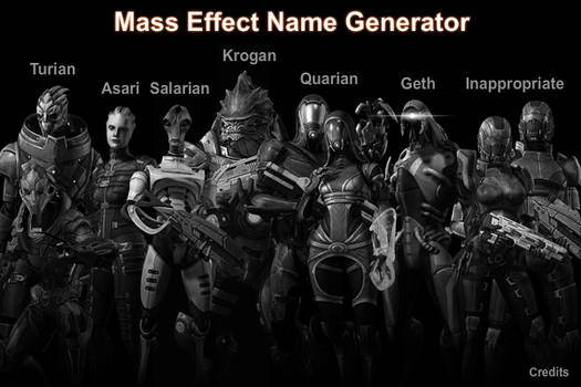 Mass Effect Name Generator