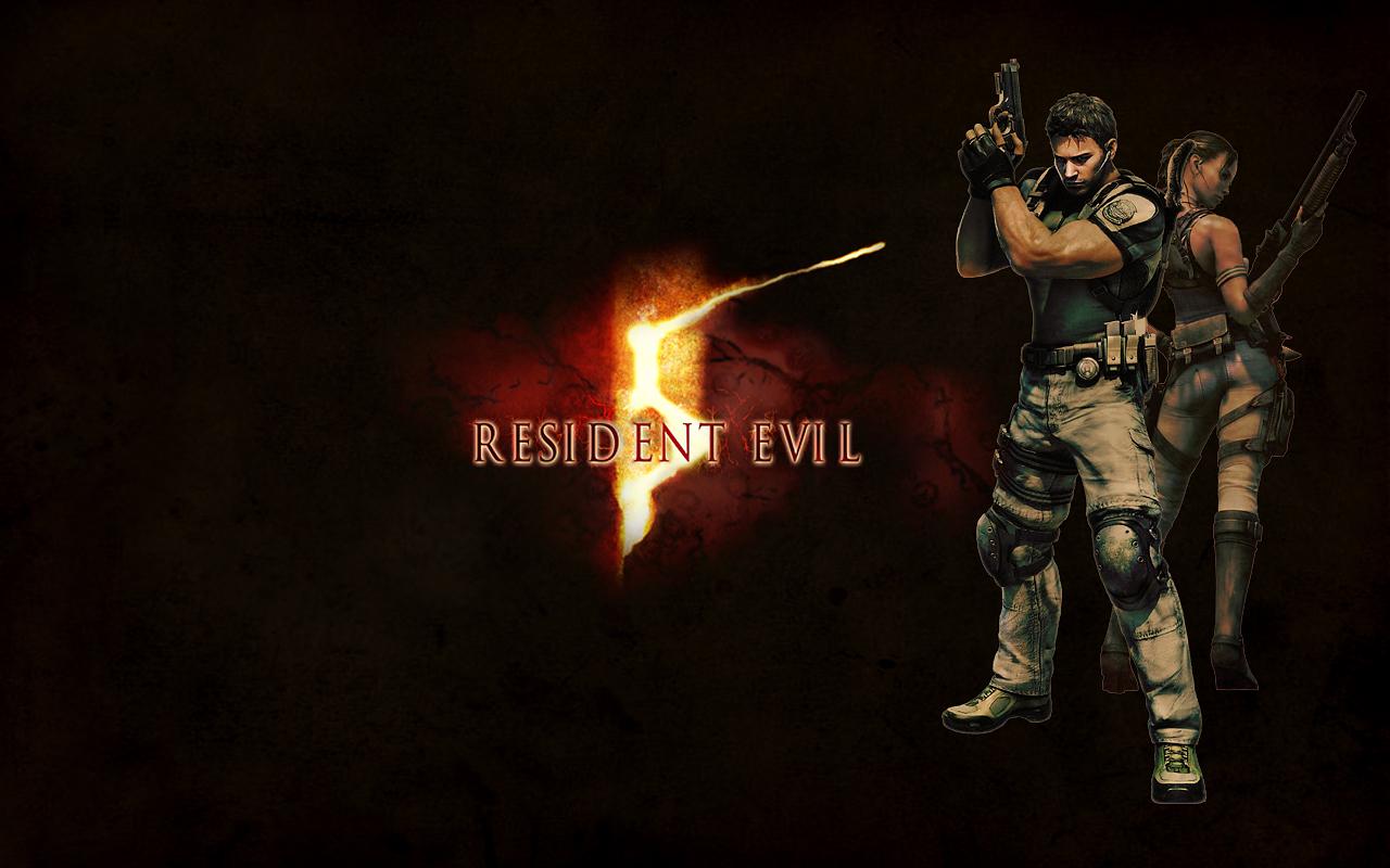 Resident Evil 5 Wallpaper By Xsilverwingx On Deviantart