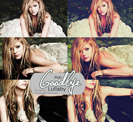 Goodbye Lullaby Coloring PSD by RanmaGirlSaotome