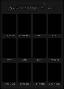 2018 Summary of Art BLANK