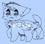 F2U kitty lineart! READ DESCRIPTION