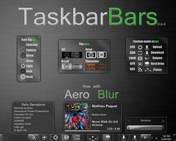 W7 TaskbarBars by WrecklessPunk