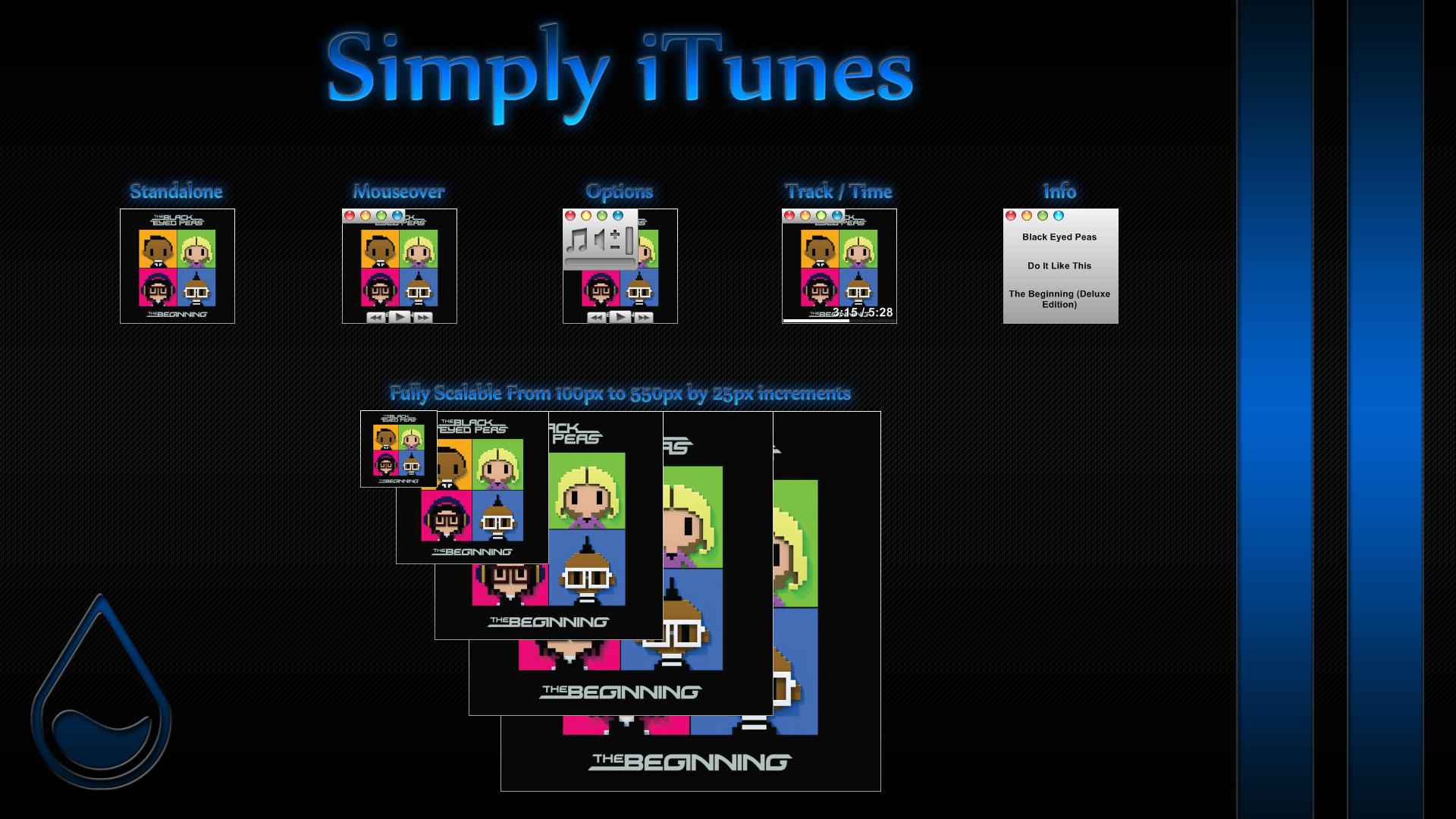 Simply iTunes by WrecklessPunk