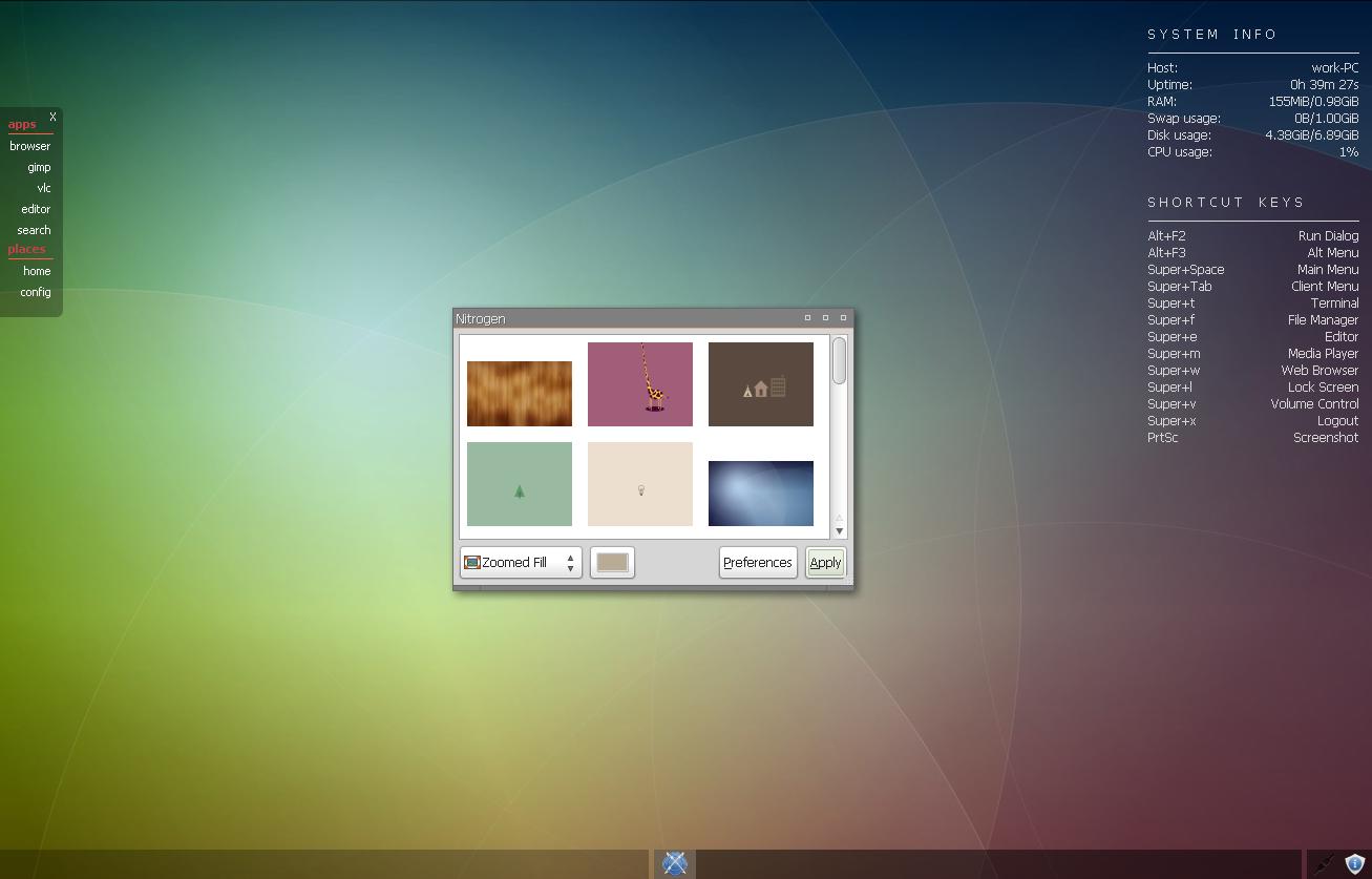 Webkit App Bar