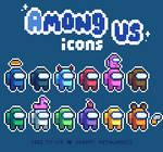 [F2U] Among Us icons by petalade