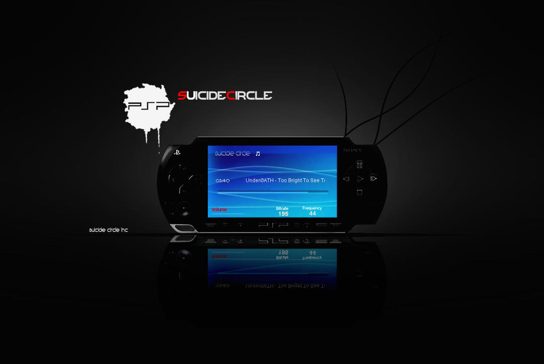 PSP For Xion by SuicideCircle