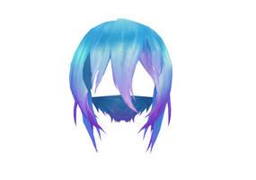 MMD TDA Hair Edit 2 by Ni-chyP