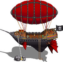 Airship by iSohei