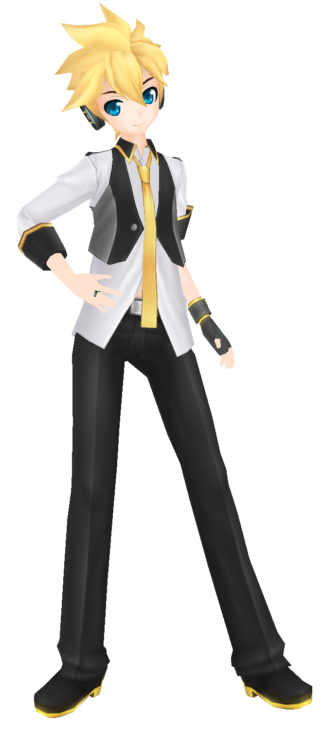 [MMD]Blue Moon Len DL by Amy-ChanNyah