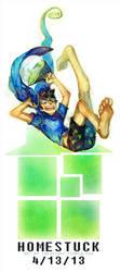 ::Homestuck:: ANIMATED GIF PLS CLICK - 4/13 by Jotaku