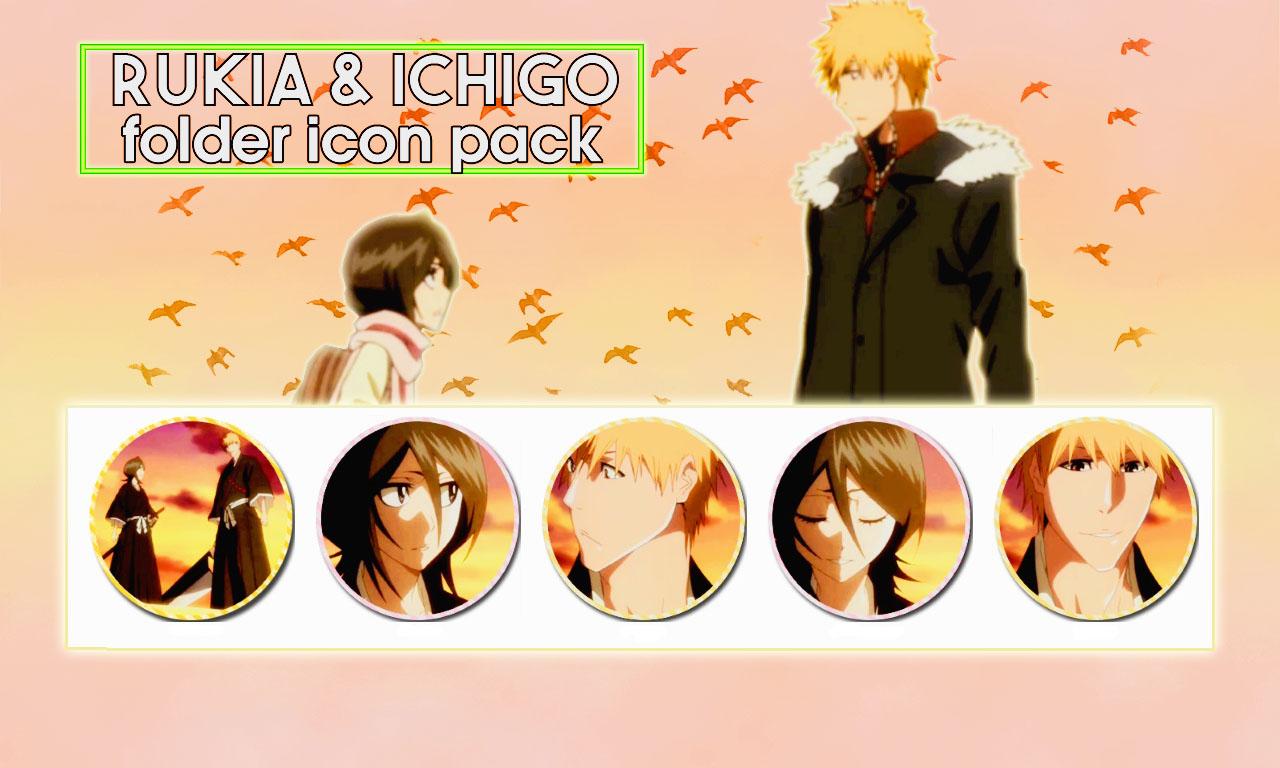 Rukia And Ichigo Folder Icon Pack Ico By Aproblem Child On Deviantart