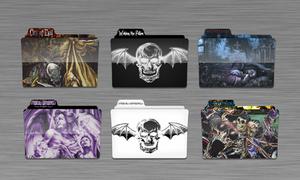 Avenged Sevenfold Folders