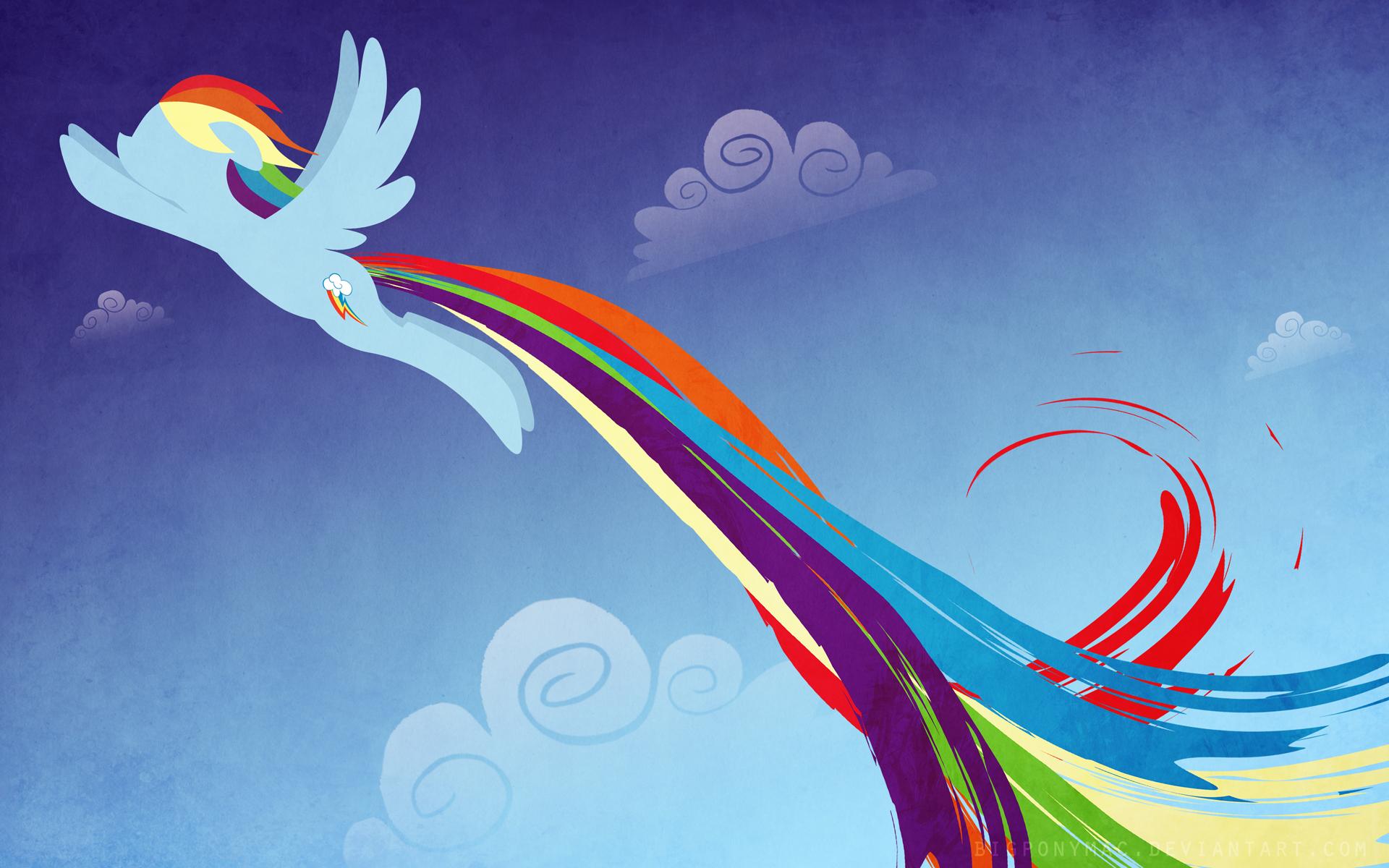 Rainbow Dash Wallpaper by bigponymac on DeviantArt