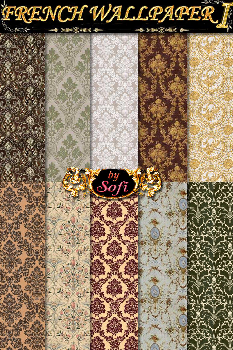 French Wallpaper Patterns 1 by sofi01