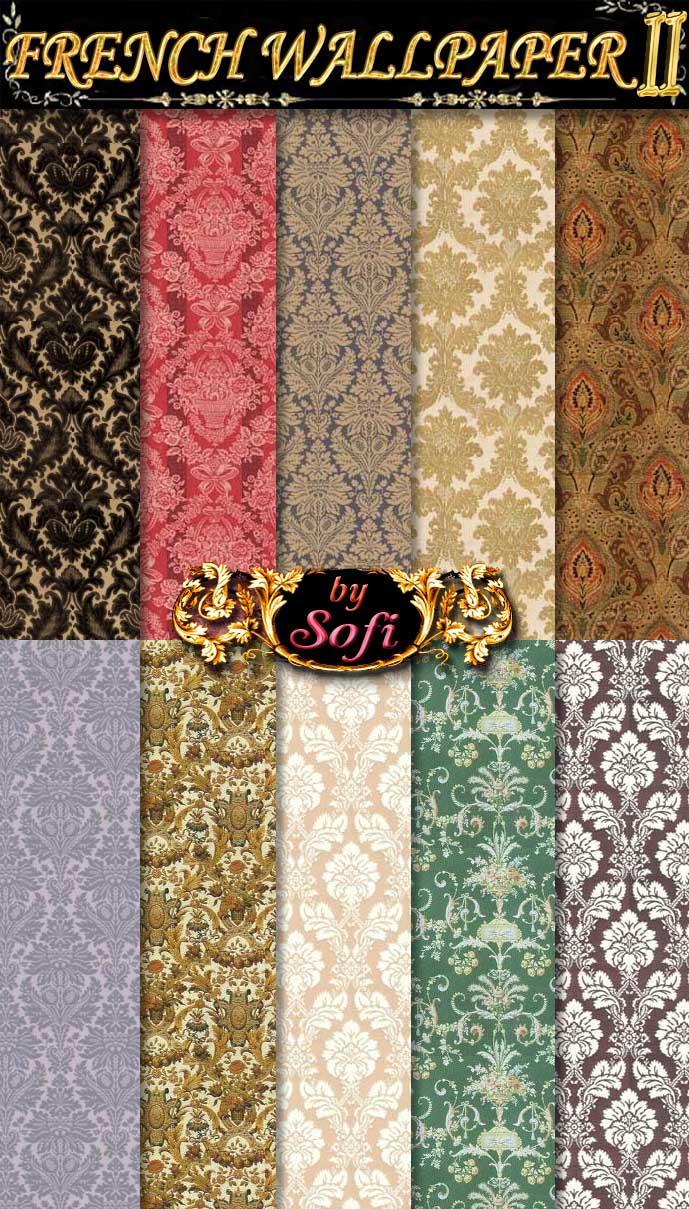 French Wallpaper Patterns 2 by sofi01