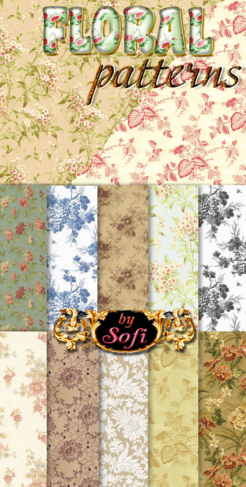 Floral Patterns by sofi01