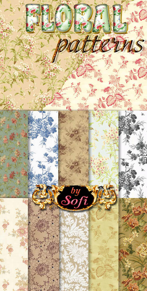 Floral Patterns by sofi01