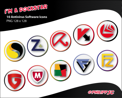Dockstar: Antivirus Icons by Philipp-JC on DeviantArt