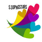 3DheartsPNG