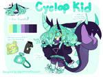 [OPEN] Cyclop Kid OTA [WIGGLE GIF ADOPT] by egg-prince