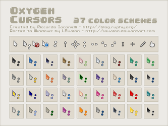 Oxygen Cursors by LAvalon