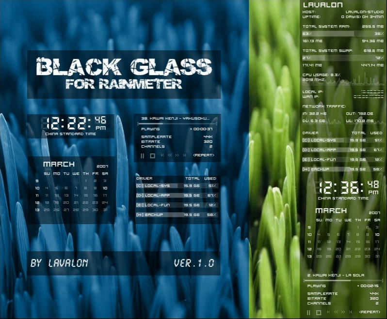 Black Glass by LAvalon