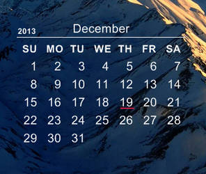 New Age Calendar by LucaEzellner