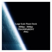 Large Planet Stock 1 by the-danzor