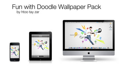 Fun With Doodle Wallpaper Pack