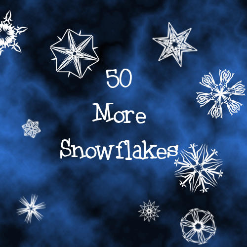 50 More Snowflakes by mintjam