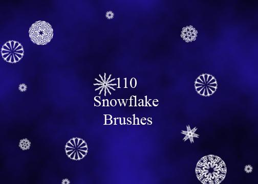 110 Snowflakes by mintjam