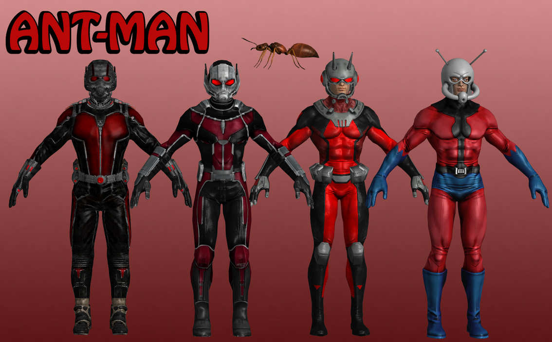 It's just a graphic of Shocking Marvel Heroes Ant Man