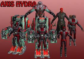 Axis Hydra Marvel Heroes XNALara